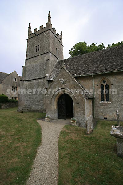 All Saints Church, Somerford Keynes